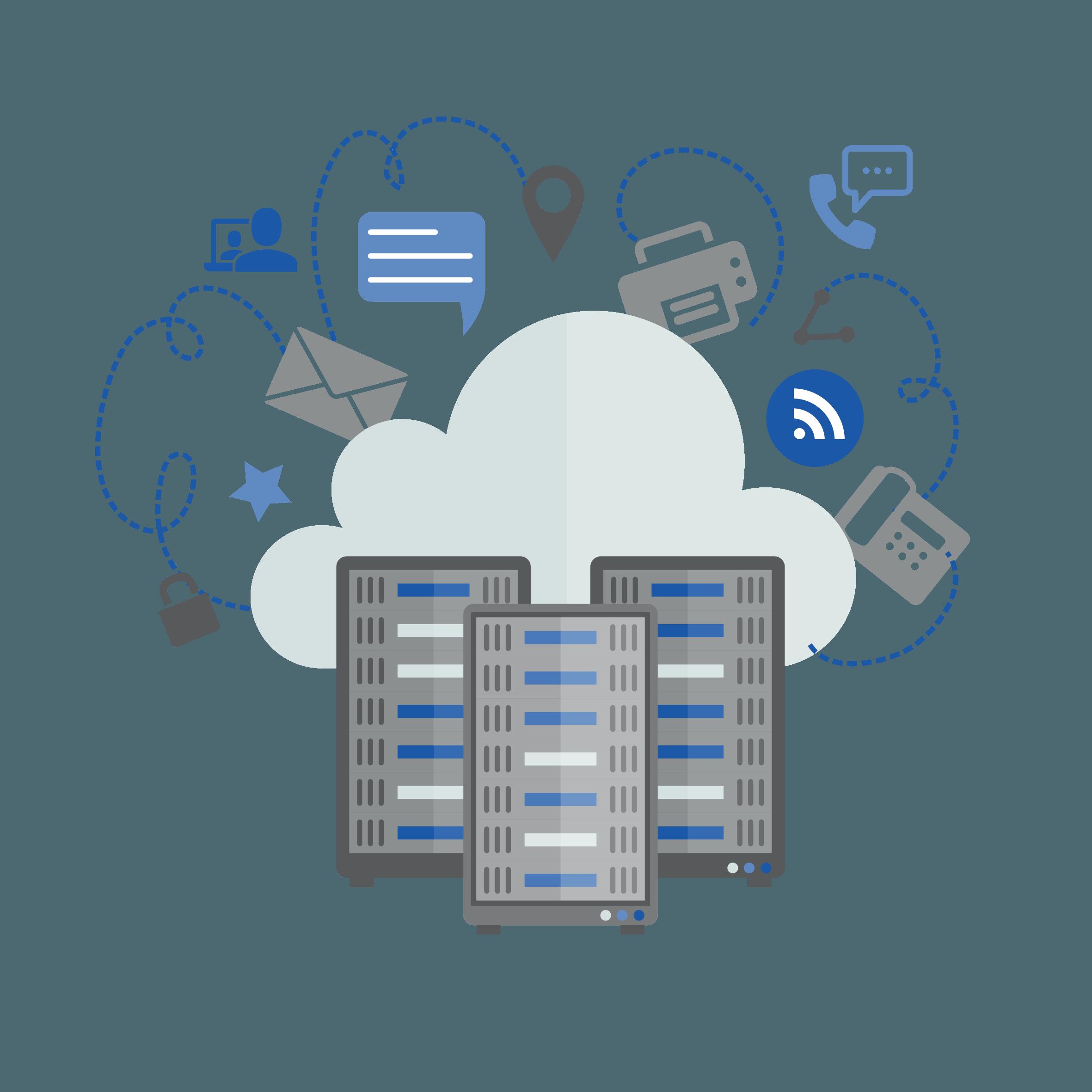 services IPNEOS hébergés dans le cloud